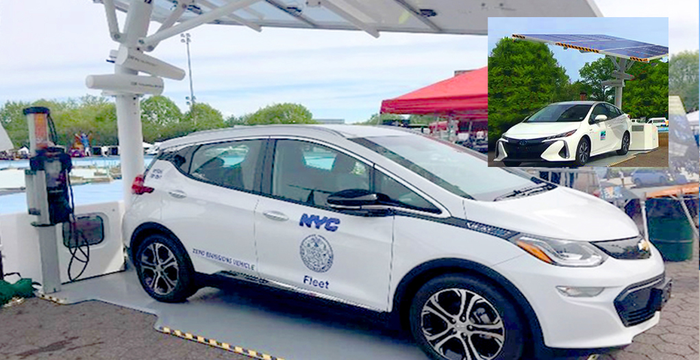 New York City has 389 fully electric vehicles