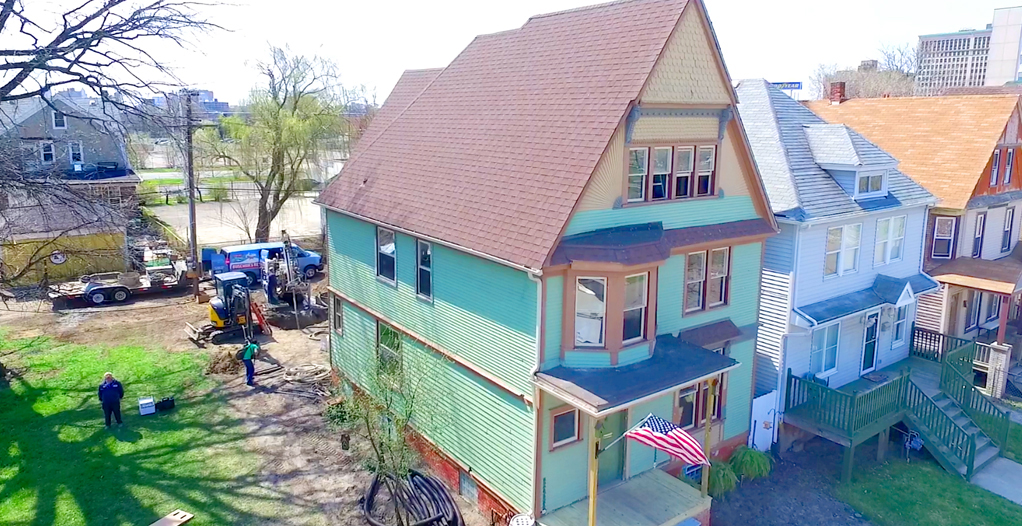 Compact geothermal in Detroit