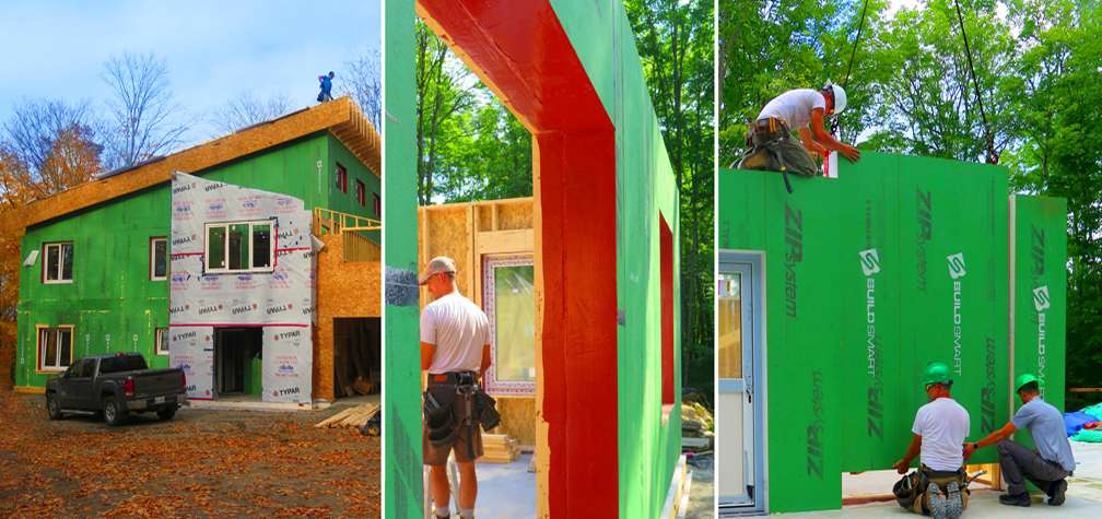 Build affordable passive house walls in 1 day with prefab modules