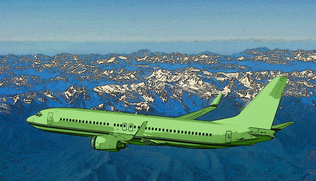 Green airplanes? Really?