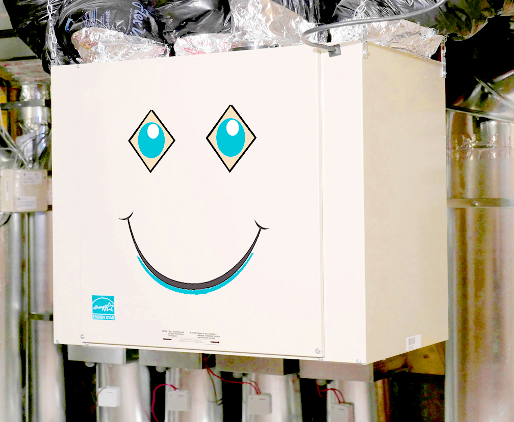 Why is this box smiling?
